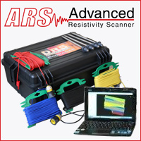 ars (advanced resistivity scanner) made in germany by DRS