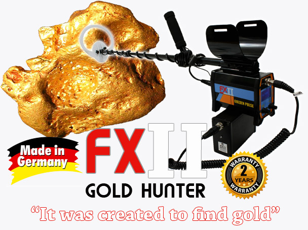 DRS FX II gold hunting pulse induction detector