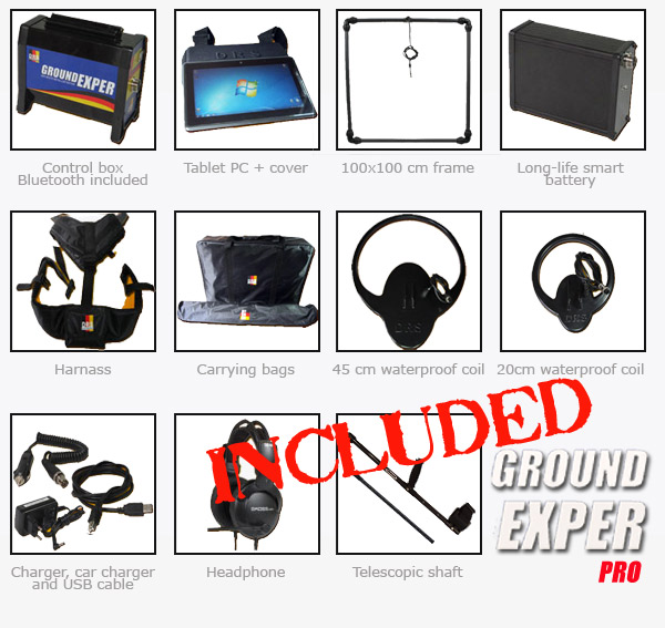 ground exper pro package content