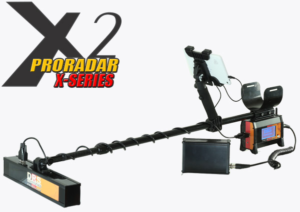 DRS Proradar X2 german ground scanner system